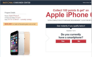 Is National Consumer Center a Scam
